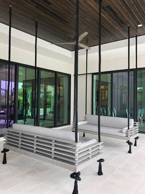 Daybed Swings Project - Custom Outdoor Furniture | Shape of Wicker