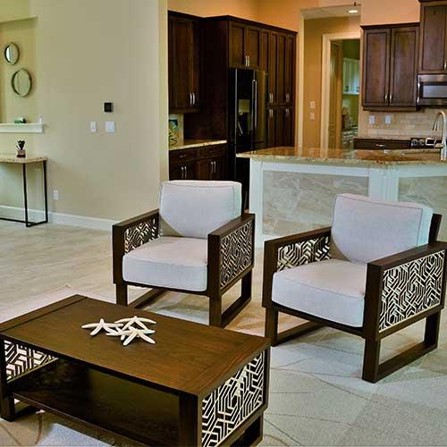 Living room design by BPOSCH Interior Design